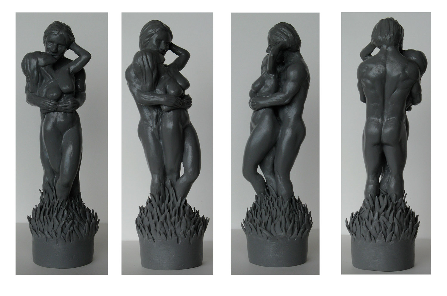 """""""lovers sculpture added to gallery"""